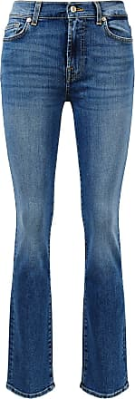 7 For All Mankind Jeans The Straight Blau