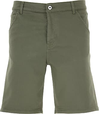 Dondup Shorts for Men On Sale, Military Green, Cotton, 2019, 30 31 32 33 34 35