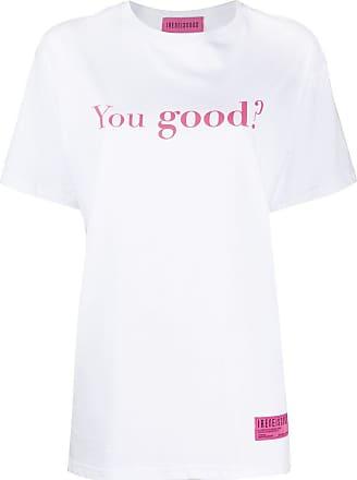 Ireneisgood Tênis You Good de algodão - Branco