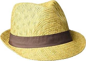Henschel Mens Seamless Shape Straw Fedora, Wheat X-Large