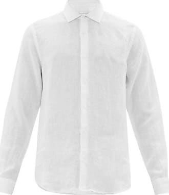 Orlebar Brown Giles Linen Shirt - Mens - White