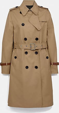 Coach Trench Coat in Beige - Size 10