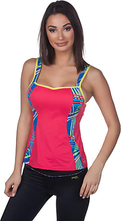 Panache Sports Active Wired Vest with Built in Bra 7345 Coral, 28E