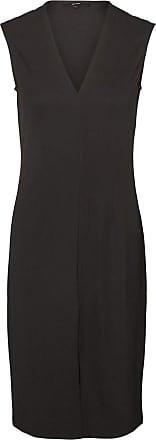 Vero Moda Womens Vmdolly Sl Short Dress JRS Da Formal Night, Black, L