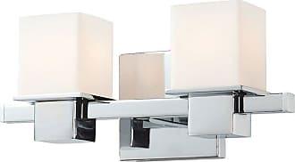 Elk Lighting Lexington 2 Light Bathroom Vanity Light - BV9T2-10-15