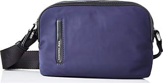 Mandarina Duck Womens Hunter Tracolla/Simply Taupe Messenger Bag, Blu (Eclipse), Taglia Unica