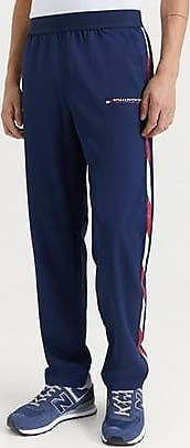 Tommy Hilfiger Woven Pant With Tape Blå