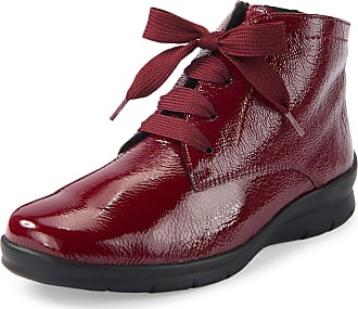 Semler Xenia lace-up ankle boots Semler red