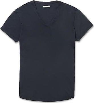 Orlebar Brown Ob-v Slim-fit Cotton-jersey T-shirt - Navy