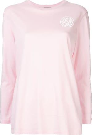 être cécile logo print T-shirt - Pink