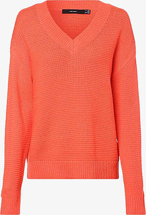 Vero Moda Damen Pullover - Vmglendo orange