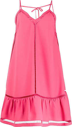 Red Valentino Vestido com recorte vazado - Rosa