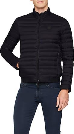 A X Armani Exchange Mens 8nzb51 Sports Jacket, Black (Black/HTR Greybc09 0217), X-Large