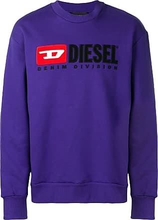 Diesel S-Crew-Division sweatshirt - Purple