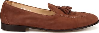 Doucal's Roger Tobacco Suede Loafers, 37.5 Brown
