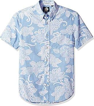 d0a35fa9bb1 Reyn Spooner Mens Weekend Wash Tailored Fit Hawaiian Shirt