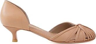 Sarah Chofakian Sapato de couro - Marrom