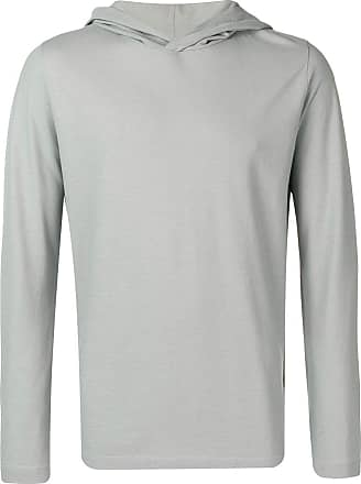 Zanone slim-fit hoodie - Grey