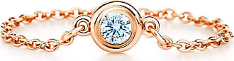 Tiffany & Co. Elsa Peretti Diamonds by the Yard Ring in 18 Karat Roségold - Size 7