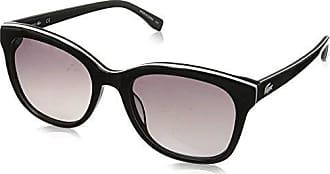 ad42e3edb03c Lacoste Womens L819s Cateye Stripes   Piping Sunglasses