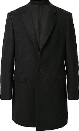 Durban single-breasted tailored coat - Black