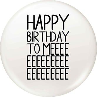 Flox Creative 45mm Pin Badge Happy Birthday to Me