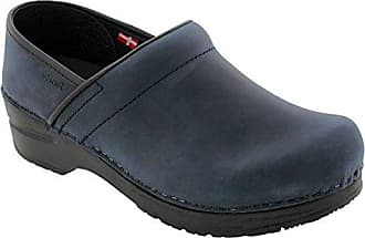 Sanita Womens Professional Blueberry Oiled Clogs