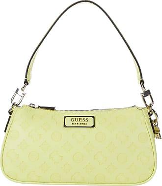 Guess Logo Love Shoulder Bag Green Size: One Size