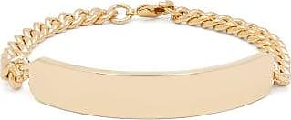 A.P.C. Darwin Curb-chain Metal Bracelet - Mens - Gold