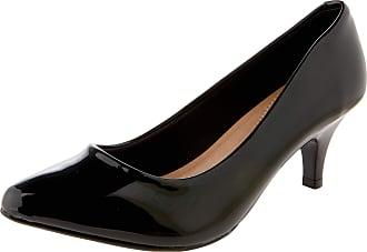 Beira Rio Sapatos Verniz Premium,Beira Rio,Feminino,Preto,35