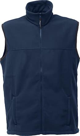 Regatta Mens Haber II 250 Series Anti-Pill Fleece Bodywarmer/Sleeveless Jacket (2XL) (Navy)