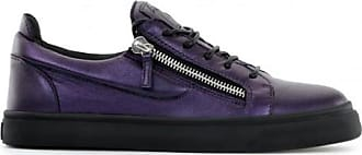 Giuseppe Zanotti Laminated leather low-top sneaker FRANKIE
