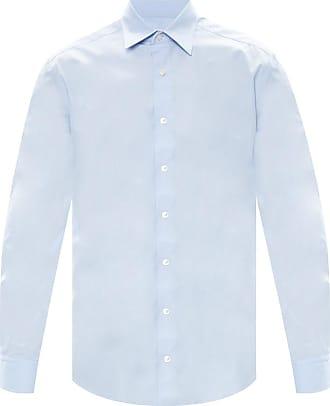 Lanvin Logo Shirt Mens Light Blue
