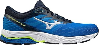 Mizuno Mens Wave PRODIGY 3 Road Running Shoe, Blue/Arctic Ice/Syellow