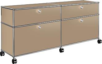 USM Haller Rollcontainer 102x37x60,5cm - USM beige