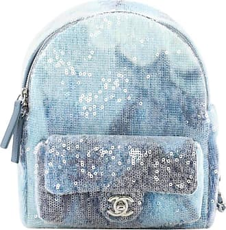 bf791a1792c4 Chanel Waterfall Backpack Sequins With Leather Mini
