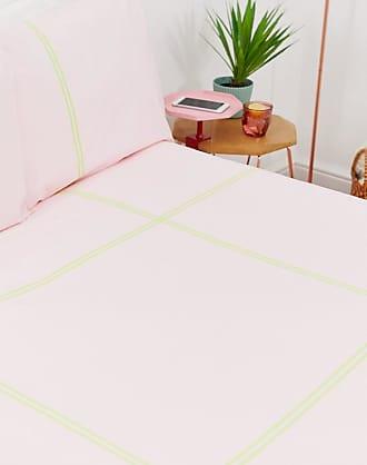 Asos FR - Set con copripiumino matrimoniale a quadri fluo-Multicolore