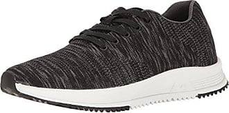Freewaters Mens Tall Boy Trainer Knit Lace-Up Shoe, Black/Grey, 7 M US