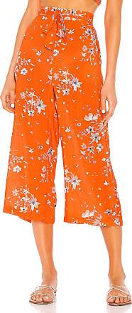 Maaji Crop Pant in Orange