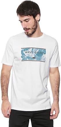 Wave Giant Camiseta WG Draw Branca