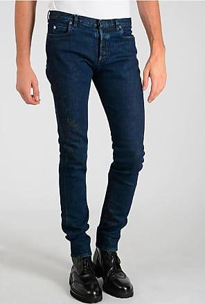Maison Margiela MM10 16cm Stretch Denim Printed Jeans size 29