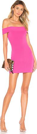 Superdown Dymond Open Back Dress in Pink