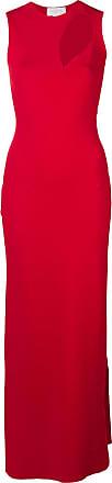 Esteban Cortazar Vestido de festa com fenda - Vermelho