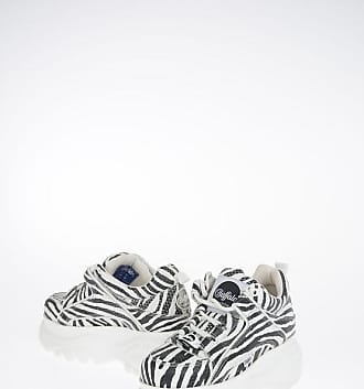 Buffalo Leather Zebra Printed Sneakers size 37