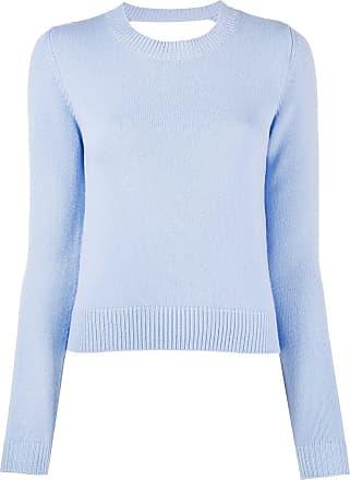 Chinti and Parker Suéter de cashmere com recortes - Azul