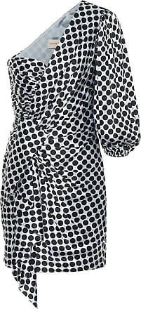 Alexandre Vauthier Dotted stretch-silk satin minidress