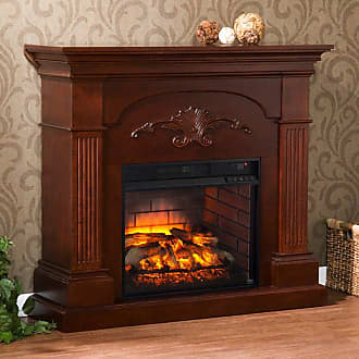Southern Enterprises Sicilian Harvest Infrared Electric Fireplace - FI9275