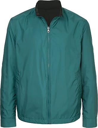 Durban front zip bomber jacket - Green