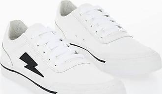 Neil Barrett Leather THUNDERBOLT SKATER LOW Sneakers size 44