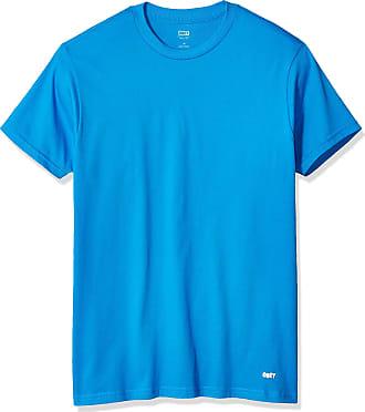 Obey Mens Jumbled 2 Premium SS TEE T-Shirt, Sky Azure, Medium